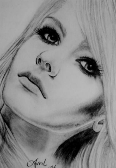 Avril Lavigne by AylaBur